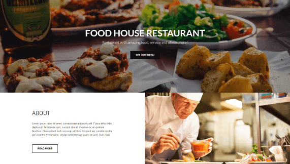 landing page, website, theme, wordpress